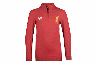 New Balance Liverpool FC 17/18 Kids Mid Layer Football Training Top