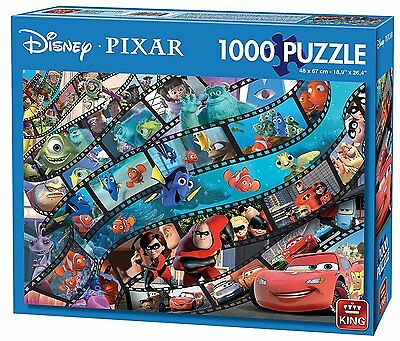 1000 piece Disney Pixar Movie Magic Cartoon Characters Jigsaw Puzzles 05265