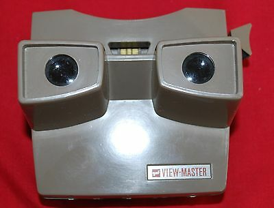 View Master Gaf Beige Lighted Viewer Model H Made In Belgium Excellent Condition