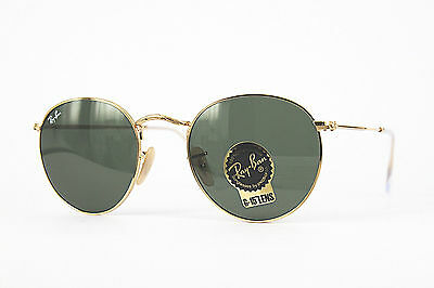 Ray Ban Sonnenbrille/Sunglasses Round Metal RB3447 001 50[]21 3N + Etui  #**