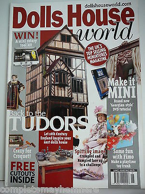 Dolls House World June 2004 Issue 141 - Back to the Tudors