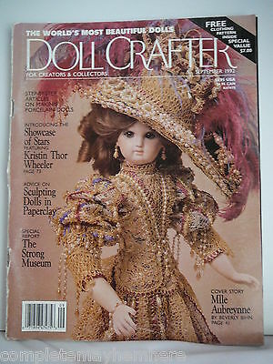 Doll Crafter September 1992 - Sculpting Dolls, Showcase of Stars