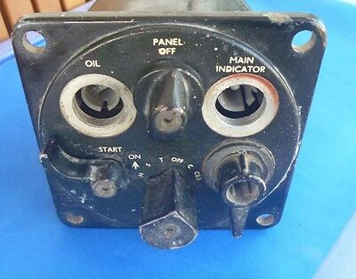 Military Austin Champ Switchboard Dash Ignition Switch for parts