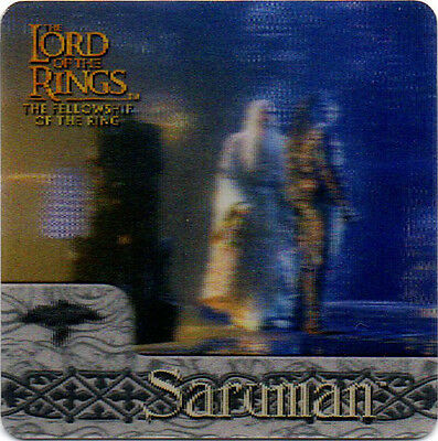 2002 Lord of the Rings ArtBox Action Flipz Lenticular #40 Saruman