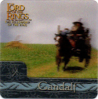 2002 Lord of the Rings ArtBox Action Flipz Lenticular #22 Gandalf