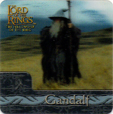 2002 Lord of the Rings ArtBox Action Flipz Lenticular #26 Gandalf