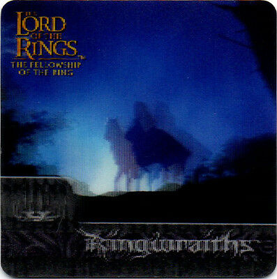 2002 Lord of the Rings ArtBox Action Flipz Lenticular #30 Ringwraiths