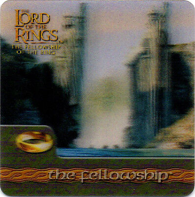 2002 Lord of the Rings ArtBox Action Flipz Lenticular #47 The Fellowship