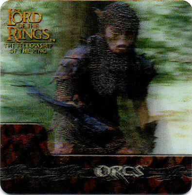 2002 Lord of the Rings ArtBox Action Flipz Lenticular #49 Orcs