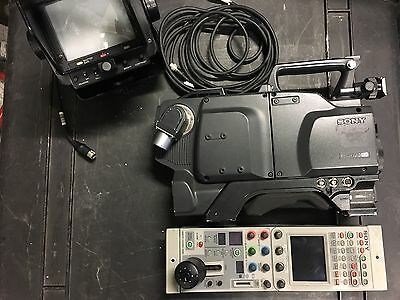 Sony DXC-D50WSP Digital Video Camera  4:3/16:9 (PAL) with RCP+Studio Viewfinder