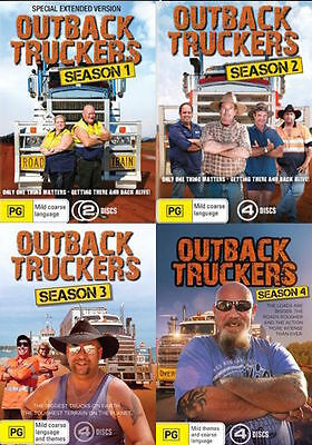 Outback Truckers Series : Season 1 2 3 4 : NEW DVD