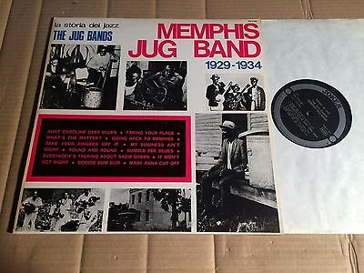 The Jug Bands - Memphis Jug Band 1929 - 1934 - La Storia Del Jazz - Lp - Sm 3104