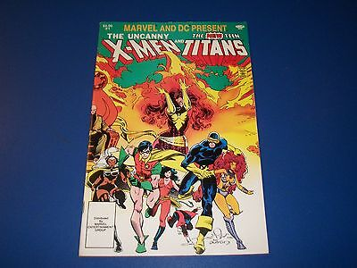 Marvel and DC Presents The X-men and New Teen Titans #1 Rare 3rd Deathstroke • $8.00
