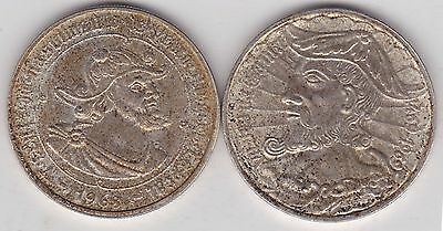 2 Portugal Silver 50 Escudos In Good Very Fine Or Better Condition 1968 And 1969