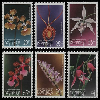 Dominica 1997 - Mi-Nr. 2316-2321 ** - MNH - Orchideen / Orchids