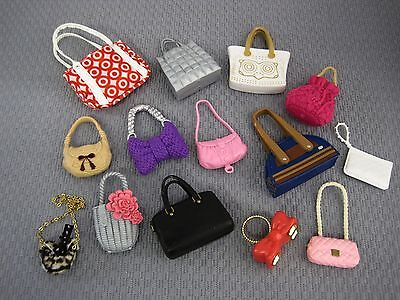 "Barbie Doll  * Handbag Lot ""new""  Shoes/accessories Category  #24"
