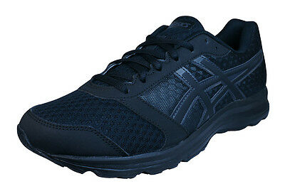 Asics Patriot 8 Mens Onyx Black T619N 9990 Running Shoes Size UK 7, 8, 10