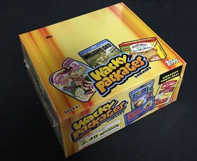2013 Topps Wacky Packages Series 11 Factory Sealed Retail Box 16 packs/10 cards
