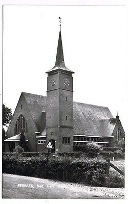 Holland Netherlands Postcard Eerbeek Church Ned Herv Kerk