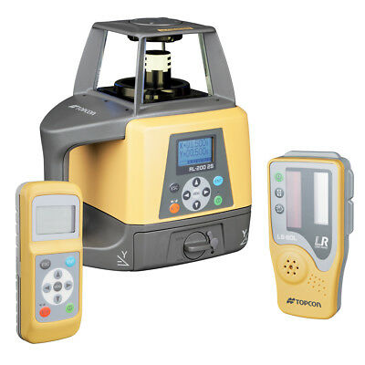 Topcon RL-200 2S Red Beam Slope Self-Leveling Rotary Laser Level - 314920782