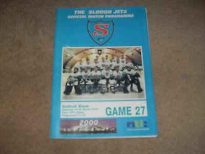 Slough Jets v Solihull Blaze 18/3/00