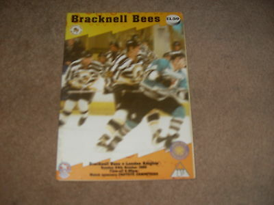 Bracknell Bees v London Knights 24/10/99