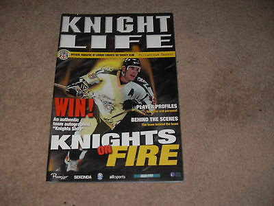 London Knights Official Magazine Millennium Season