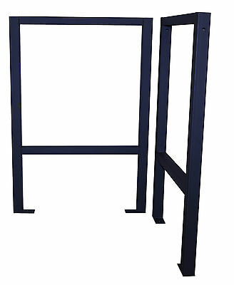 Pair Of Work Table Workbench Legs Support Stand For Garage Workshop House Garden