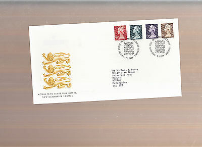 1999 £1 TO £5 HIGH VALUES DEFINITIVES First Day Cover