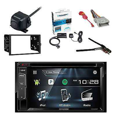 Receiver With Radio Tuner, Rearview Camera, Dash Kit, Adapter & Wiring Harness
