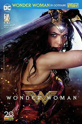 WONDER WOMAN IN GOTHAM SPECIAL (deutsch) MOVIE-VARIANT-COVER Sensation Comics 1