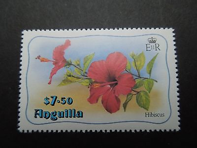 N757 Stamps  Anguilla 1982 Hibiscus  Mi  475 Mnh