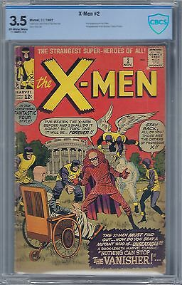 X-Men # 2 Cbcs : 3.5 Owtw Pgs - Vanisher!!!