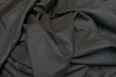 Leather Hide Cowhides Upholstery Skins Craft / Brown 89