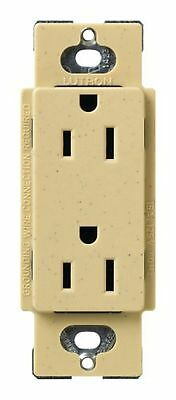 Lutron SCR-20-GFTR-SW Satin Colors 20A GFTR Electrical Receptacle Snow B1