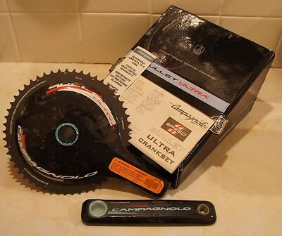 NEW Campagnolo Bullet Ultra Carbon 11 Speed Crankset Chainset 53/39T / 172.5mm