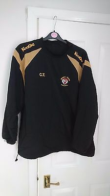 WIDNES TIGERS Rugby League Shirt Amateur Kooga Training Jacket  XL Top Men's