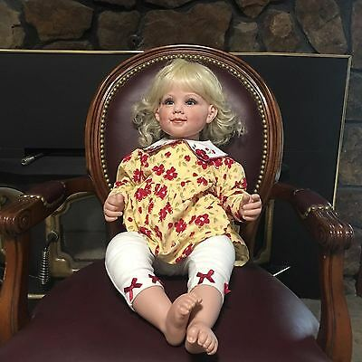 LE 500 VINYL FAYZAH SPANOS DOLL 2002 LIMITED EDITION HAND SIGNED LIFE LIKE doll