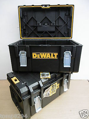 2 X Dewalt Xr Tough System Tough Cases Ds300 Design Without Liner Or Tote Tray