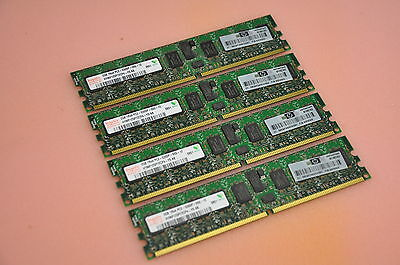 HP Integrity RX6600 Server 8GB ( 4 x 2GB RAM AB565DX) Memory Kit