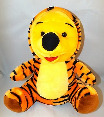 Winnie The Pooh Teddy Bear In Tigger Suit Kids Babies Collectable Soft Toy 11X