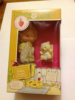 action figure rare strawberry shortcake boxed retro g1 1980s mlp Butter Cookie