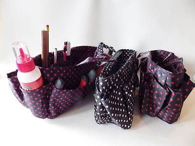ROBUST STORAGE ORGANISER BAG - crafts sew knit jewellery making REDUCED TO CLEAR