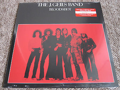J. Geils Band - Bloodshot - Limited Edition Red Vinyl Lp Album - New And Sealed