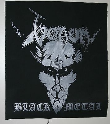 VENOM black metal BACK PATCH entombed morgoth grave slayer bulldozer bathory