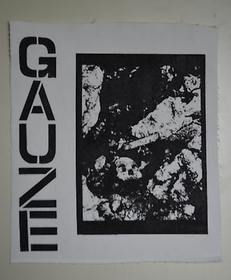GAUZE equalizing distort BACK PATCH amebix discharge crass disclose gbh kuro