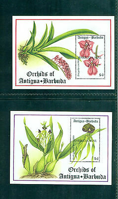 Barbuda 1994 Island Orchids Minisheets SGMS1556 MNH
