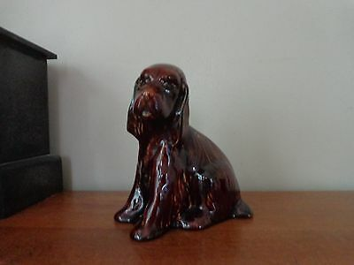 Arthur Wood Vintage Pottery Cocker Spaniel Money Box