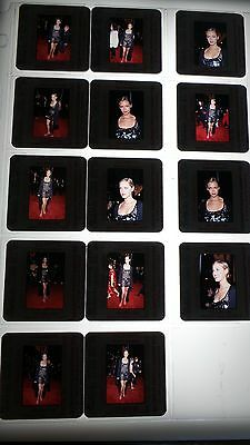 Kristanna Loken VINTAGE ORIGINAL LOT OF COLOR 35MM SLIDE PHOTO #