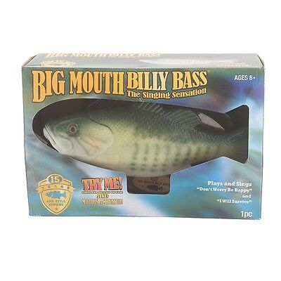 Billy Bass 15th Anniversary Edition - Singing Special Big Mouth Sensation